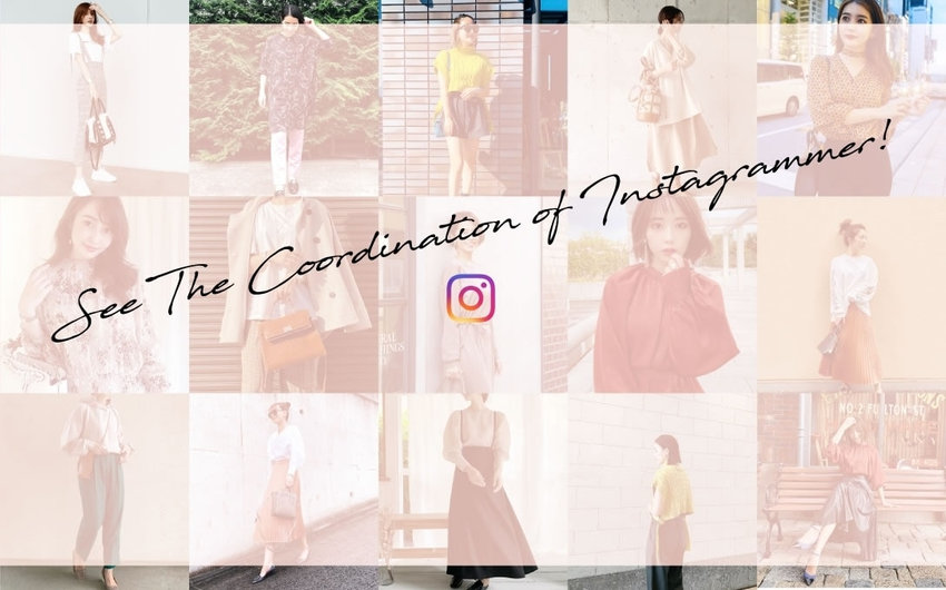 See The Coordination of Instagrammer!
